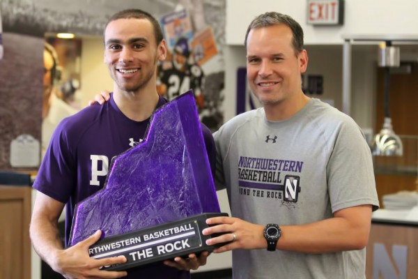 "Northwestern University ""Pound The Rock"" Trophy"