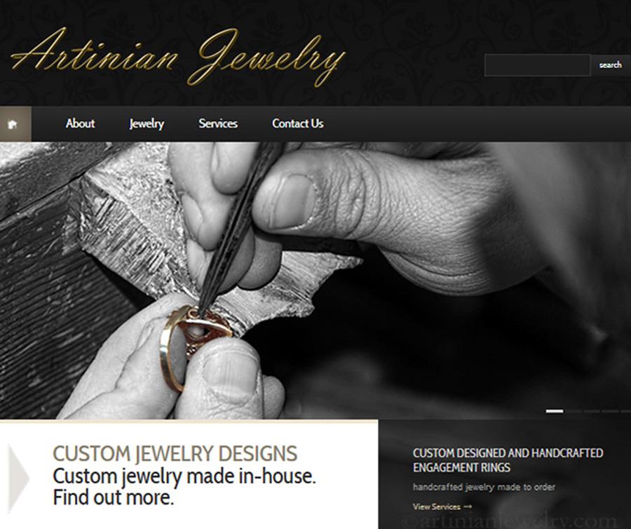 Artinian Jewelry Website